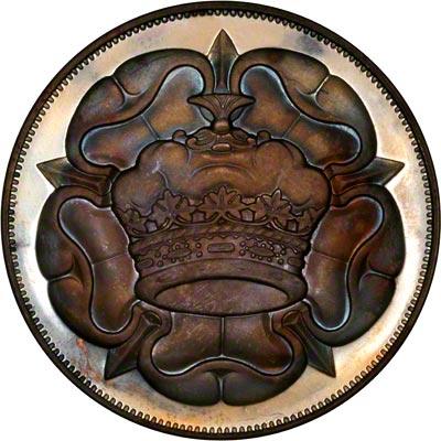 Reverse of 1972 Edward Duke of Windsor Medallion