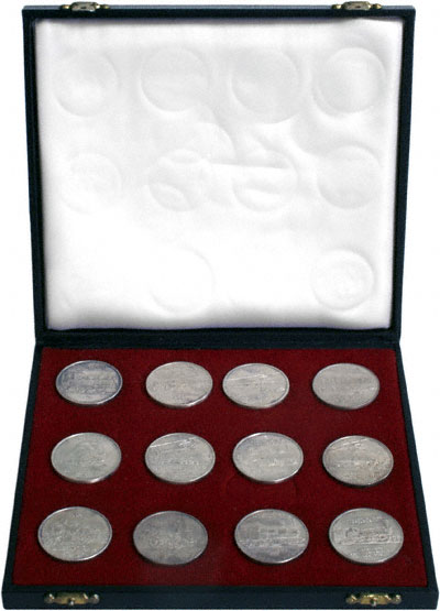 1972 Silver Medallion Collection in Presentation Box