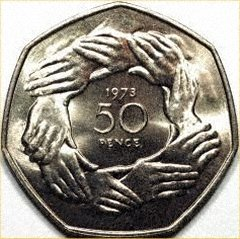 1973 Fifty Pence Silver Piedfort Rumour