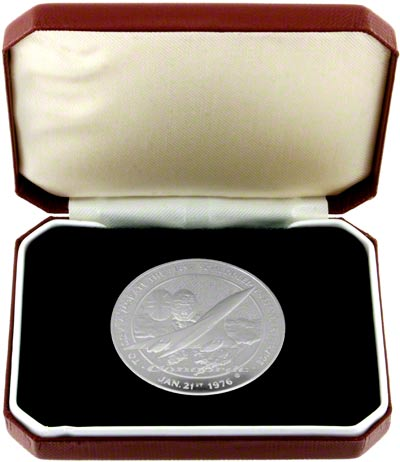 1976 Concorde Medallion in Presentation Box