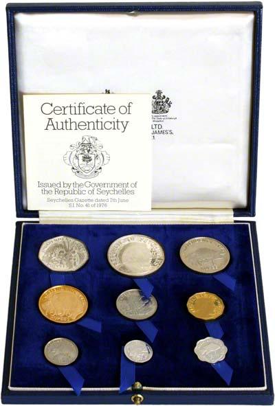 Seychelles Coin Sets