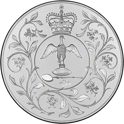 1977 Crown Commemorating the Silver Jubilee of Queen Elizabeth's Coronation