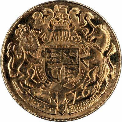 Reverse of 1977 Silver Jubilee Medallion