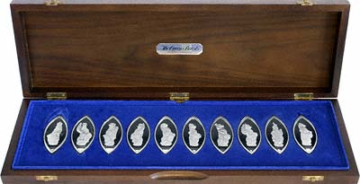 The Queen S Beasts Silver Medallions For The 1977 Silver