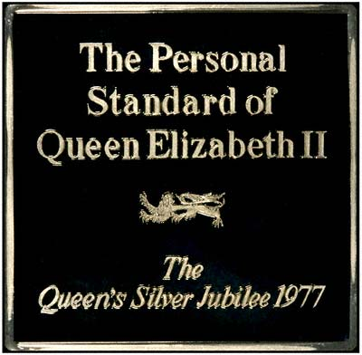 Queen Elizabeth II's Personal Standard Medallion