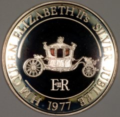 1977 Royal Coach Silver Medallion
