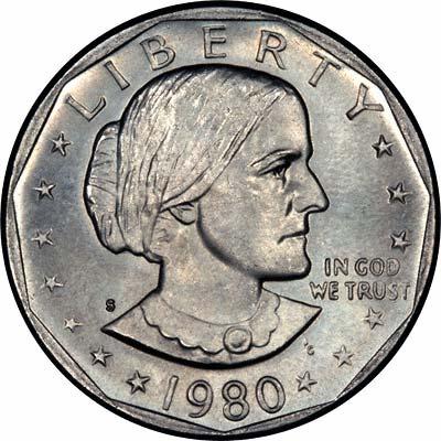 1980 liberty dollar coin