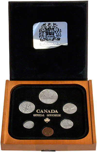 2005 Canada 7 Coin Uncirculated Set