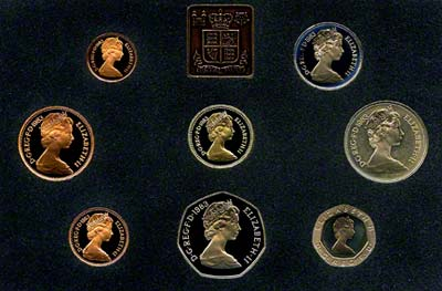 Obverse of the 1983 Royal Mint Proof Set
