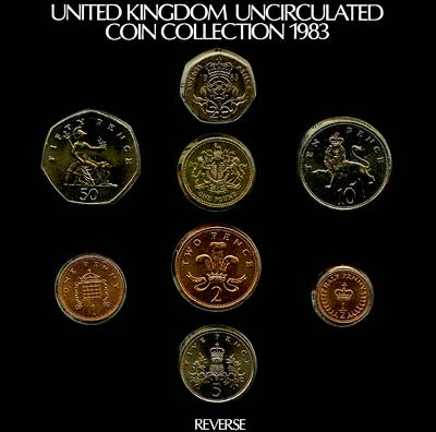 Obverse of the 1983 Official Uncirculated Set