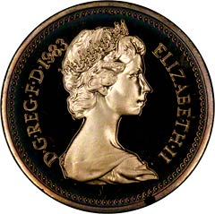 Obverse of One Pound Coin