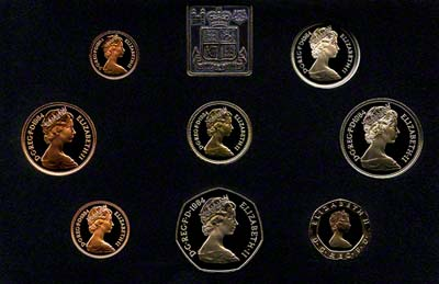 1984 British Coin Sets