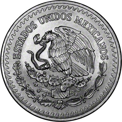 1985 One Ounce Mexican Silver Libertad