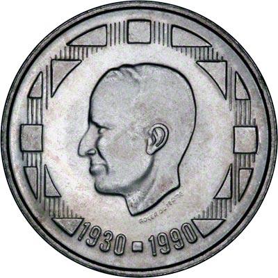 Obverse of 1990 Belgian 500 Francs