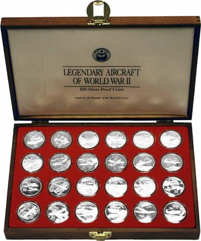 1991 Marshall Islands Legendary Aircraft Of Wwii Coin