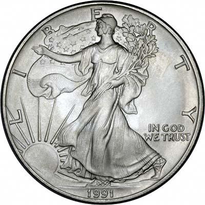 1991 American Eagle Silver Bullion Coins