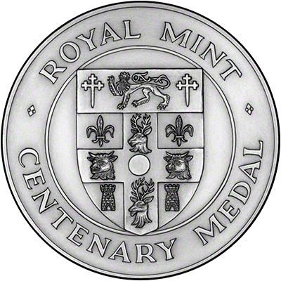 1992 Millennium of the Office of High Sheriff Silver Medallion Obverse