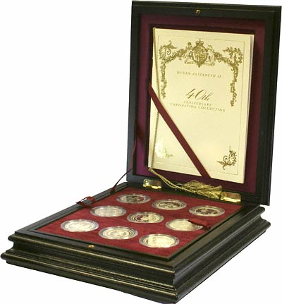 1993 Crown Collection in Wooden Box