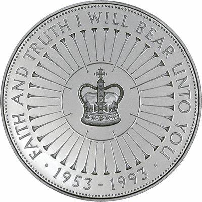 Reverse of 1978 Falklands £5