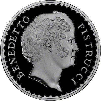 Obverse of Pistrucci Medallion of 1993