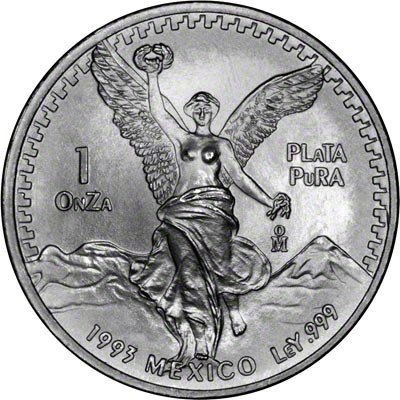 1993 One Ounce Mexican Silver Libertad