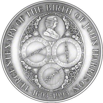 1993 John Harrison Medallion