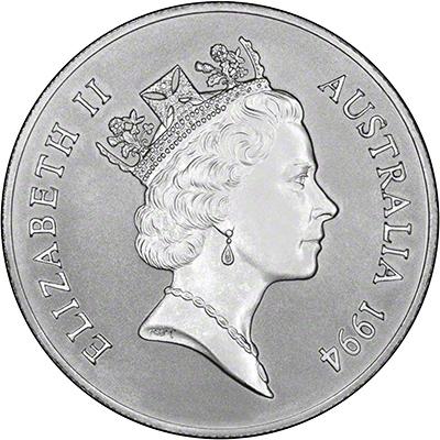 Australian Silver Kangaroo Coins 1994