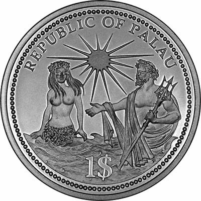 Obverse of 1994 Independence Dollar