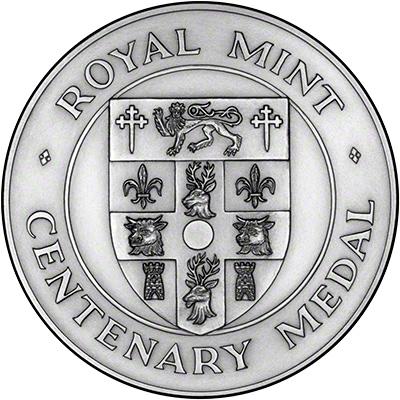 1994 Tower Bridge Silver Medallion Obverse