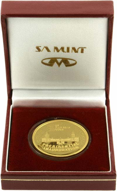 1994 South Africa Gold Medallion in Presentation Box