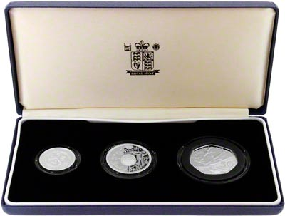 1994 Silver Proof Three Coin Set in Presentation Box