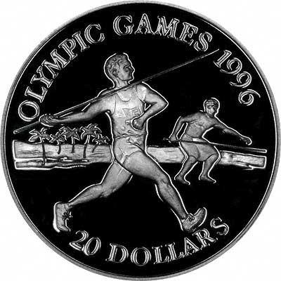 2000 Sydney Olympic Logo & Rings on Reverse of Australian $100 Gold Proof Coin