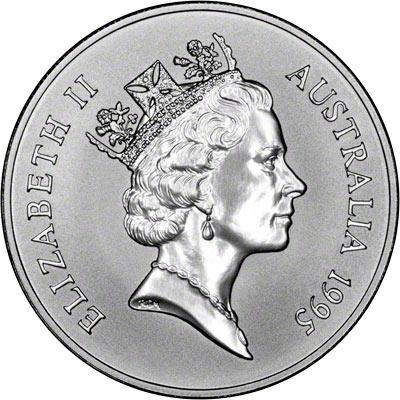 Australian Silver Kangaroo Coins 1995
