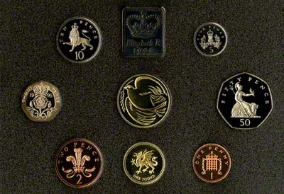 Reverse of the 1995 Proof Set