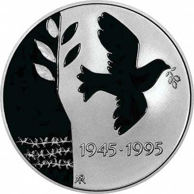 Reverse of 1995 50 Kroner