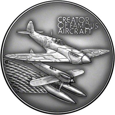 Obverse of 1995 R.J.Mitchell Medallion
