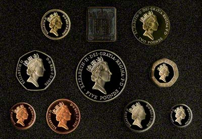 Obverse of the 1996 Proof Set