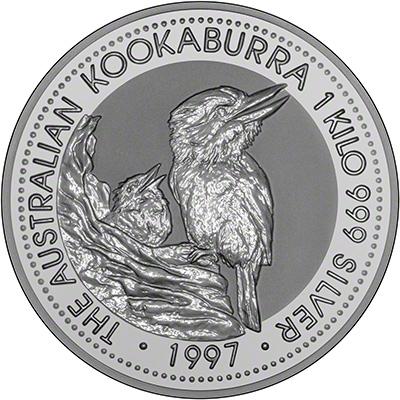 Australian Silver Kookaburra Coins 1997