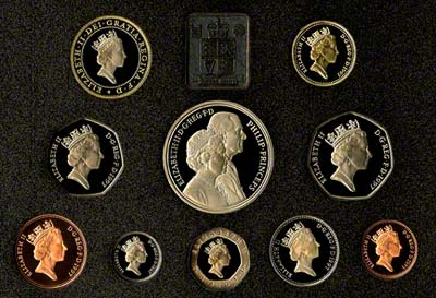 Obverse of the 1997 Proof Set