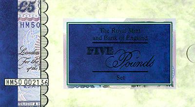 1997 Golden Anniversary Presentation Pack Cover