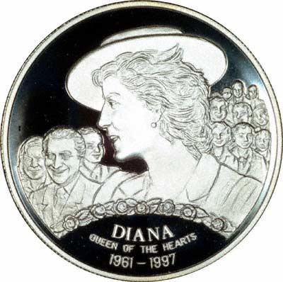 Reverse of 1997 1000 Dobra
