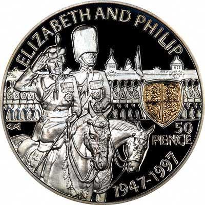 1993 Saint Helena 1973 Tercentenary Silver Proof Crown