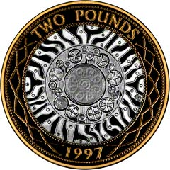 Obverse of Two Pound Coin