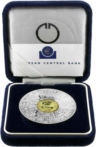 1998 ECD Bimetallic Medallion in Presentation Box