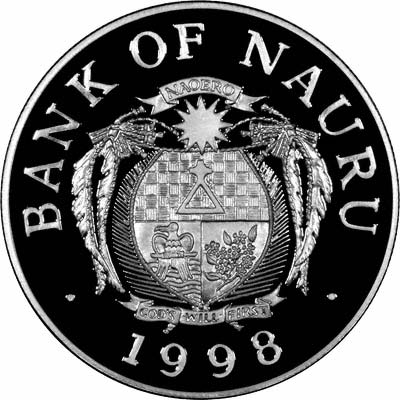 Nauru Coins