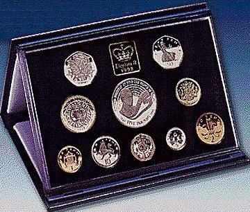 Standard Royal Mint Proof Set Packaging