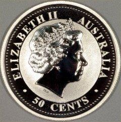 Obverse of Australian Half Ounce Silver Coins