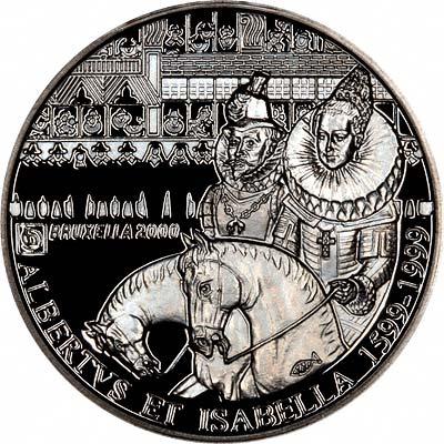 Obverse of 1999 Belgian 500 Francs