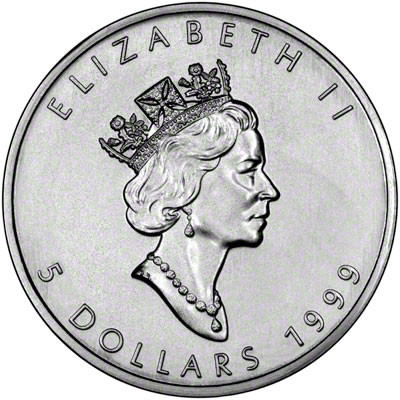 1999 Canada Silver Maple Leafs