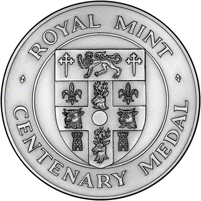 1999 Order of St John Silver Medallion Obverse